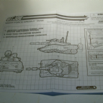gi joe instructions blue prints 2004 night force grizzly tank